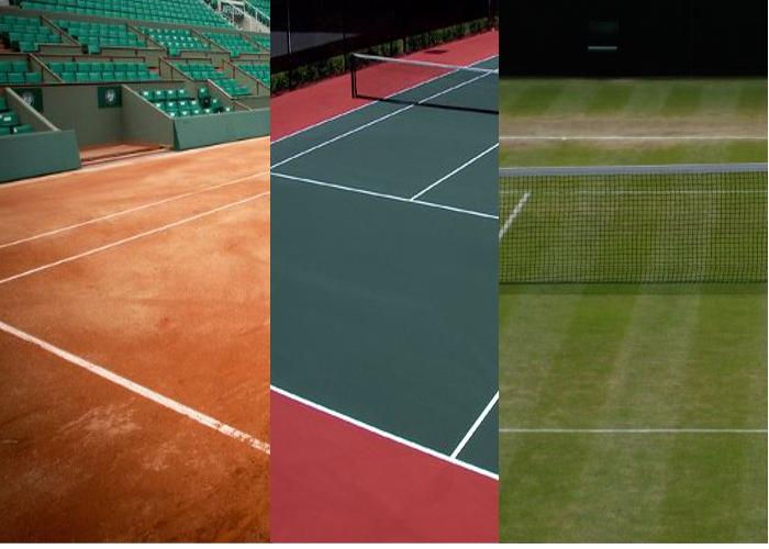 有利・不利を知り試合に勝つ!テニスコートのサーフェスの種類と特徴