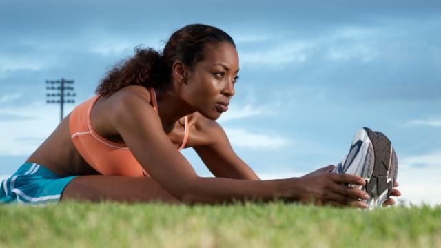 怪我の予防!準備体操と整理体操をしっかりしよう。