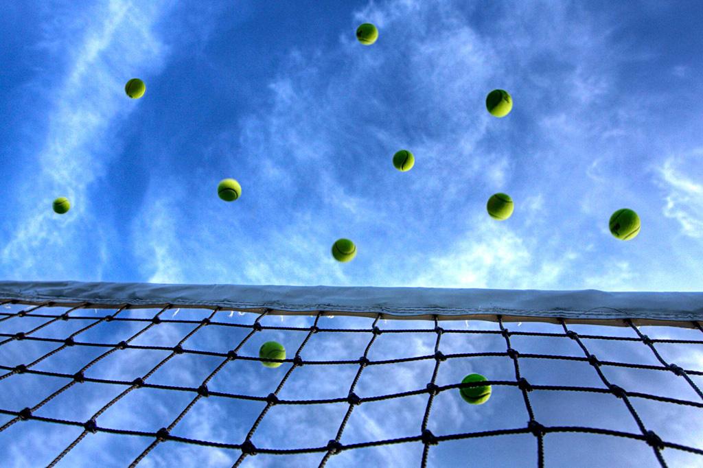 テニスの試合でロブがバンバン成功する!コツはイメージすること!
